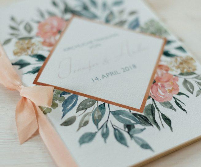 Hochzeitskarten Fur Eine Fruhlingshochzeit Hannah Antenna