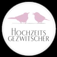Hochzeitsgezwitscher-Badge