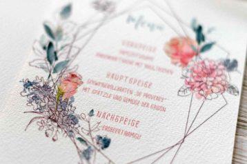 Hochzeitseinladung Aquarell Hannah Antenna Hochzeitskarten Hochzeitspapeterie